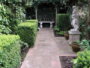 The Roman Garden at Newport Roman Villa