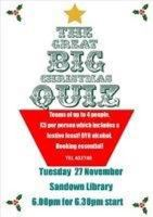 The Great Big Christmas QUIZ !
