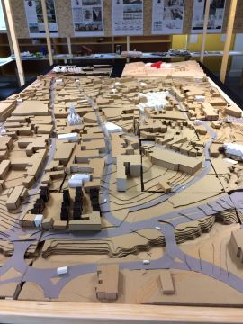 Models created by students for a range of projects will be showcased at 30 High Street, Newport, from 20 to 30 July