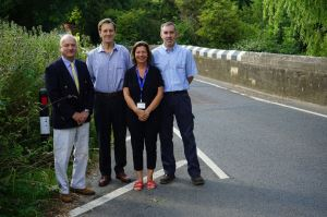 Road safety is at the heart of moves  to reduce traffic speeds in Newchurch
