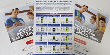 New recycling/waste booklet out